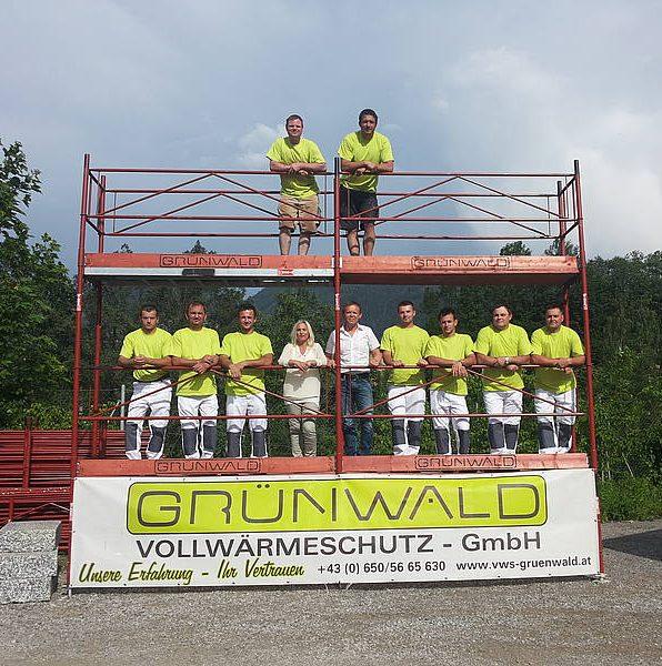 Grünwald Gerüstbau Team